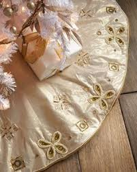 gold tree skirt burgundy gold christmas tree skirt by sudha pennathur at horchow