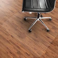Plastic Office Desk Decoration Vinyl Chair Mat Clear Office Mat Office Desk Floor