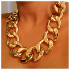 chain link necklace chunky images Chunky large link necklace frugal finds nyc jpg