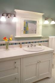 bathroom backsplash ideas bathroom midcentury with ada vanity