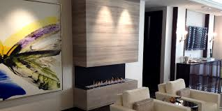 h series by european home modern 3 sided fireplace vent free
