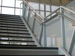 Metal Banisters Metal Railing With Bars Outdoor For Balconies Amico