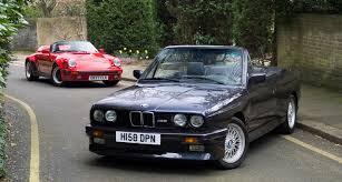 Bmw M3 1989 - roofless rivals u0027 rendezvous porsche 911 speedster meets bmw m3