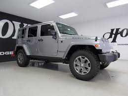 jeep rubicon 4x4 4 door 2017 jeep wrangler unlimited 4x4 4 door suv rubicon silver suv for