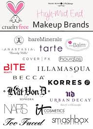 free makeup cosmetic brands high end mid range