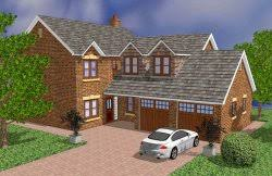 four bedroom house plans 4 bed house plans selfbuildplans co uk uk house plans