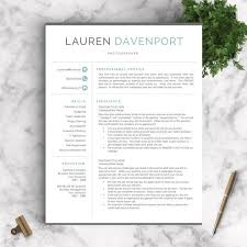 free modern resume templates modern resume template for word and pages creative modern