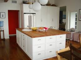 Unfinished Wood Kitchen Island by Kitchen Island Cabinets On Both Sides Tehranway Decoration