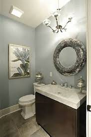 Contemporary Bathroom Design With Decorative Wall Mirror cheap