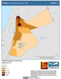 Jordan World Map by Maps Gridded Population Of The World Gpw V3 Sedac