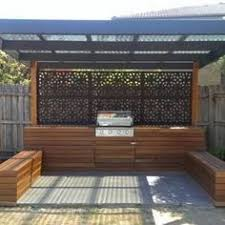 outdoor kitchen ideas australia warm colour scheme for the outdoor area get inspired by photos of