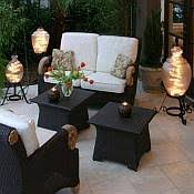 Patio Table Lamps Outdoor Patio Table And Floor Lamps