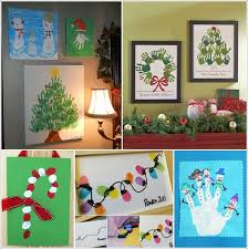 25 adorable christmas hand and foot art ideas