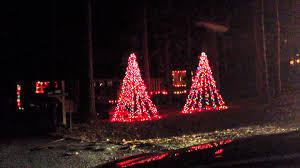 michael shoaf u0027s christmas light display 2012 santa is coming youtube