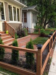 Front Yard Metal Fences - best 25 yard fencing ideas on pinterest front yard fence fence