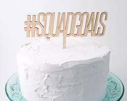 wedding cake hashtags hashtag cake topper etsy