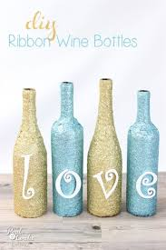 How To Decorate A Wine Bottle Wine Bottle Crafts