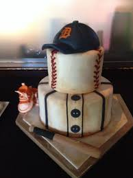 Sports Baby Shower Cake Ideas Baseball Themed Shower Cake On Cake Central Wedding Pinterest