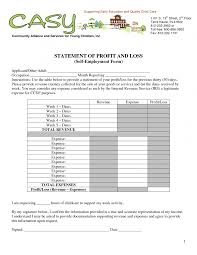 profit and loss statement excel template free gallery templates