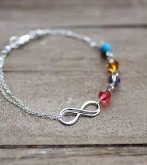 mothers bracelets with birthstones s bracelet infinity bracelet custom birthstones