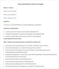 System Administrator Resume Sample by Administration Resume Template U2013 24 Free Samples Examples