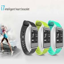 heart rate bracelet iphone images Newest iwown i7 smart watch with heart rate fitness tracker jpg