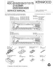 kenwood kdc 217 manuals