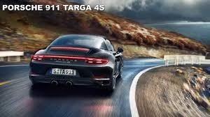 porsche 911 los angeles 2017 porsche 911 targa exterior and interior walkaround debut