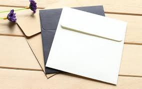 10 10cm kraft paper mini blank envelopes for membership card small