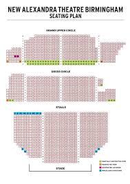 regent theatre floor plan new alexandra theatre seating plan at new alexandra theatre atg