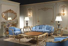 Classic Living Room Furniture Eighteenth Century Living Room Furniture Inspired To The Royal