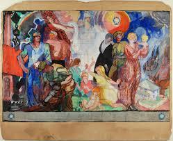 Mural Art Designs by Beyond Walls Designs For Twentieth Century American Murals