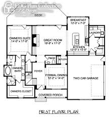 Cottage Plan by Rustic Cottage Plan 2744 Edg Plan Collection