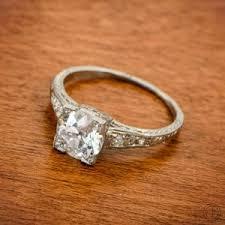 unique art deco engagement rings see 7 rare finds