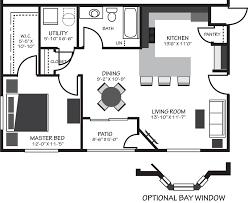 apartment square footage 770 square feet bramblett hills apartments
