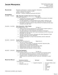 sle resume objective qa resume objective software testing sle resume quality assurance