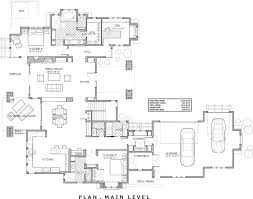 Bi Level Floor Plans With Attached Garage by Two Story Craftsman 9067 4 Bedrooms And 3 Baths The House