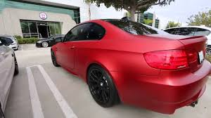 Bmw M3 Colour E92 Bmw M3 Frozen Red Limited Edition Color Youtube