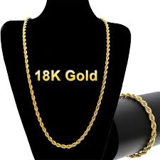 chain necklace sizes images 18k gold long chain necklace men jewelry brand gothic gold color jpg
