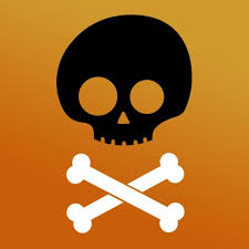 Stencils For Home Decor Skull And Crossbones Halloween Stencil Craft Stencils For Diy