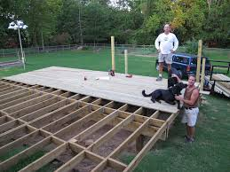 oak home improvement decks