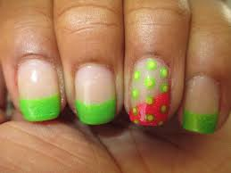 pink and lime green nail designs image collections nail art