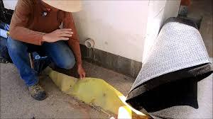 fox blocks common waterproofing system peel n stick membranes