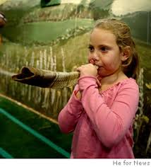 kids shofar teaching kids to their own horn ny daily news