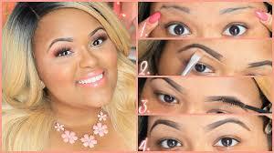 How To Do Eyebrow How To Do Eyebrows On Fleek U2013 World Novelties Makeup 2017