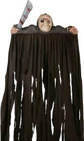 Halloween Costumes Jason Voorhees Amazon Friday 13th Jason Voorhees Door Topper Decoration