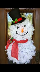snowman wreath www facebook com southernsass trendy tree custom