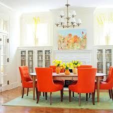 orange leather dining chair u2013 cagayandeorocity info