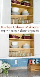 yay our organized kitchen cabinet looks pretty four organized kitchen cabinet looks pretty organize emptying purging and cleaning the