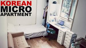 Micro Apartment 130 Sq Foot 500 Month Seoul Studio Apartment Tour Youtube